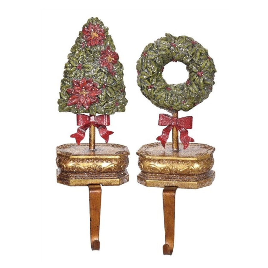Wreath Stocking Holder