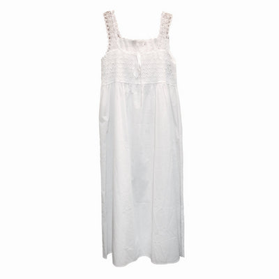 "Victoriana ""Laura"" Crochet Bodice Nightgown, VI-Victoriana Imports, Putti Fine Furnishings"