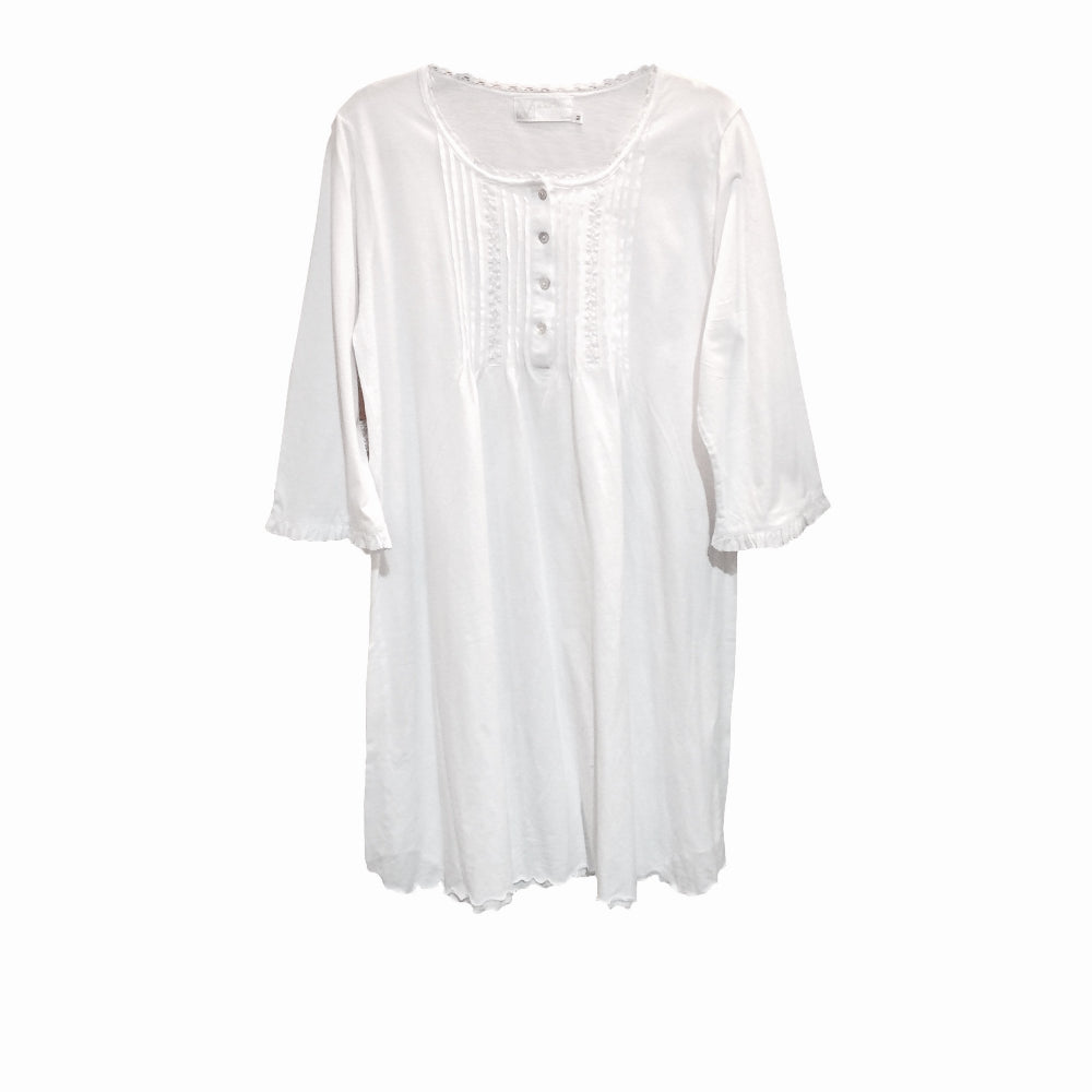 "Victoriana ""Alicia"" Cotton Jersey Night Shirt"