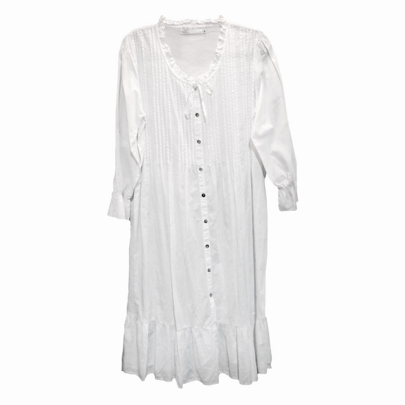 "Victoriana ""Lilian"" Embroidered Nightdress, VI-Victoriana Imports, Putti Fine Furnishings"