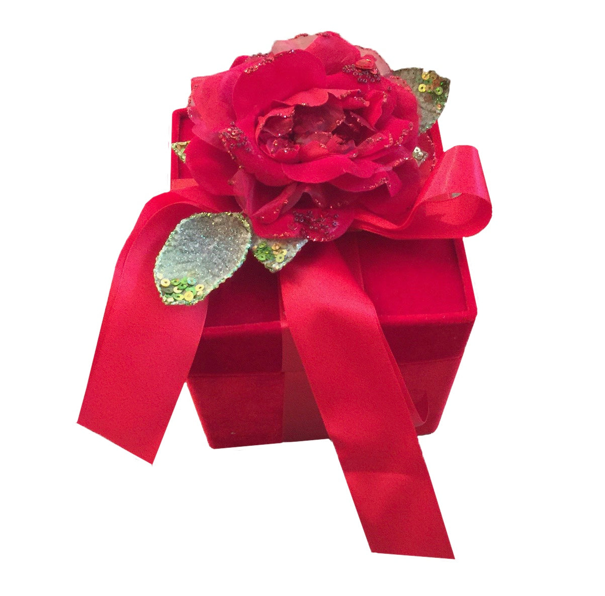 Katherine's Collection Red Velvet Rose Box, Katherine's Collection, Putti Fine Furnishings