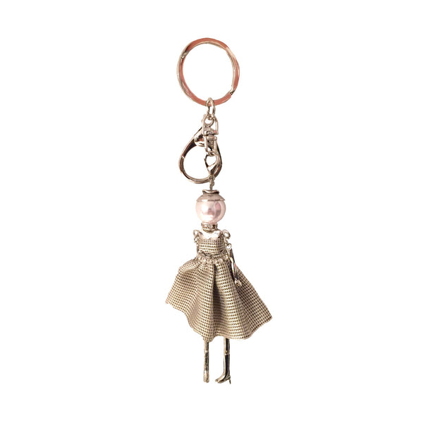 Jacqueline Kent Grey Princess Diva Keychain, JK-Jacqueline Kent, Putti Fine Furnishings