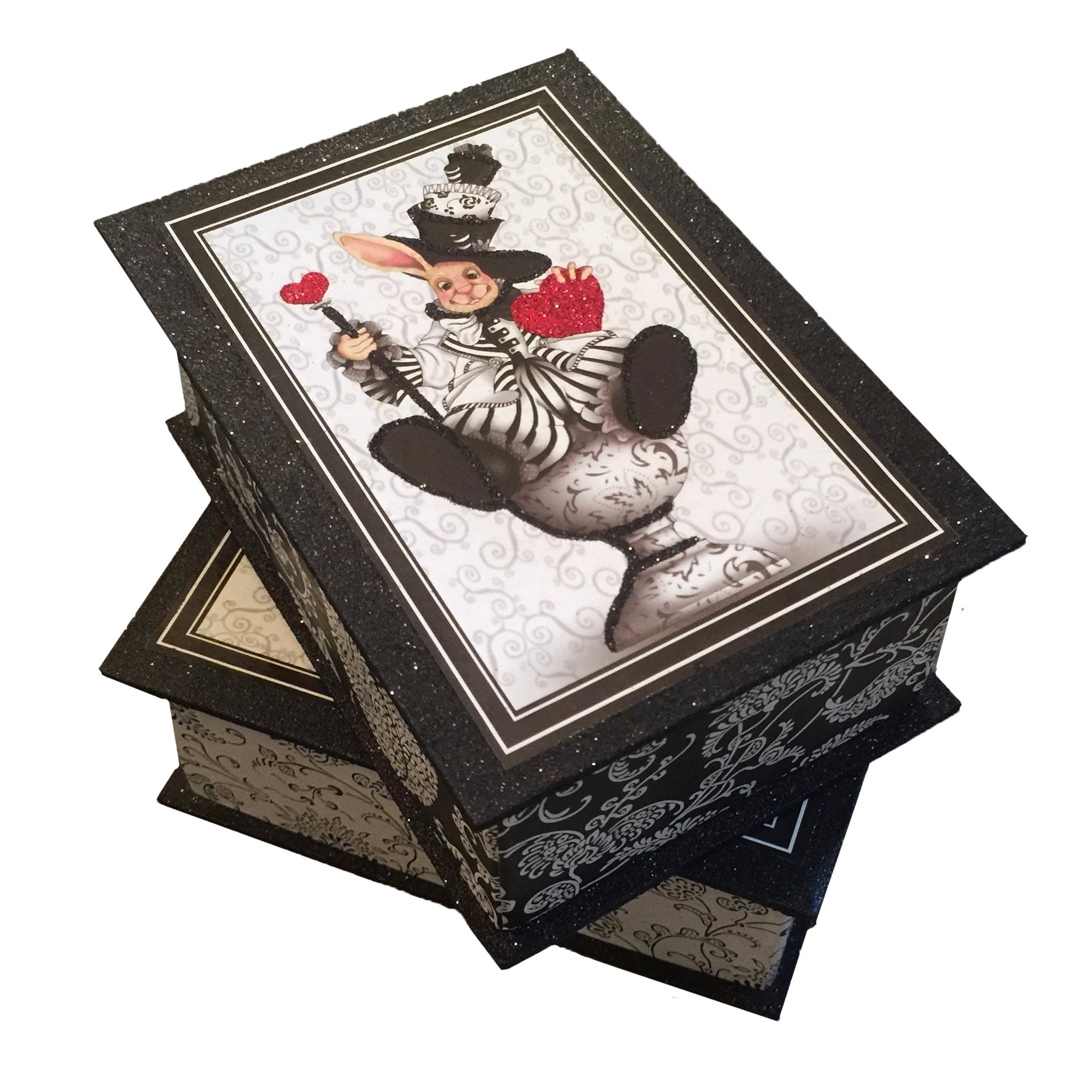 "Katherine's Collection ""Mad Hatter""Candy Box, Katherine's Collection, Putti Fine Furnishings"