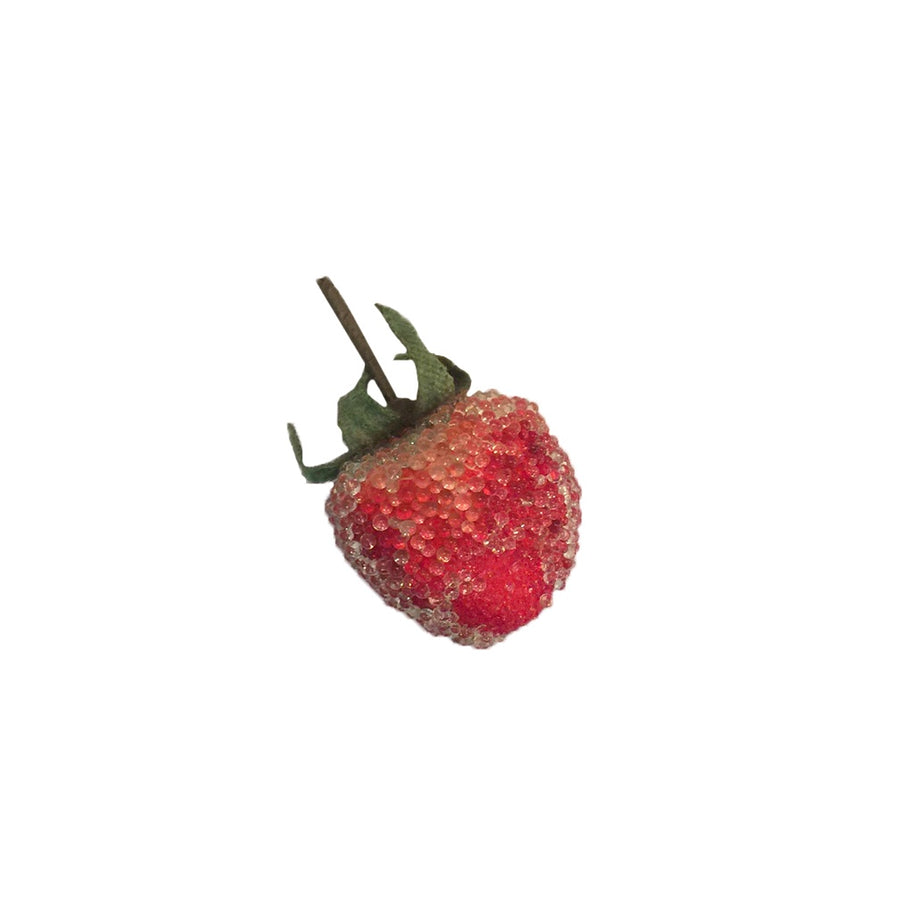 Small Beaded Strawberry