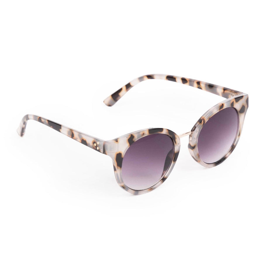 "Powder ""Aurora"" Sunglasses - White Tortoiseshell"
