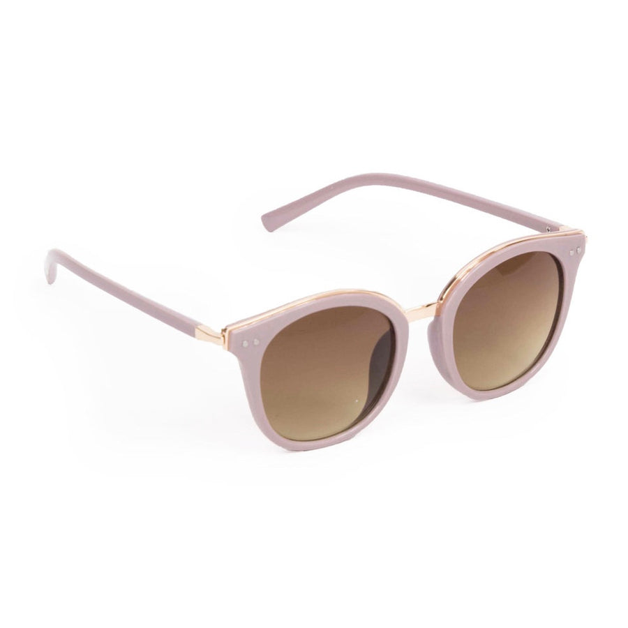 "Powder ""Adele"" Sunglasses - Lavender and Gold"