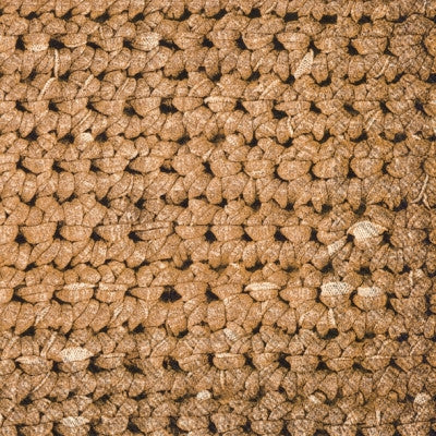 Crochet Paper Lunch Napkin - Light Brown