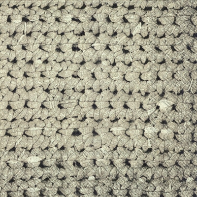 Crochet Paper Lunch Napkin - Grey
