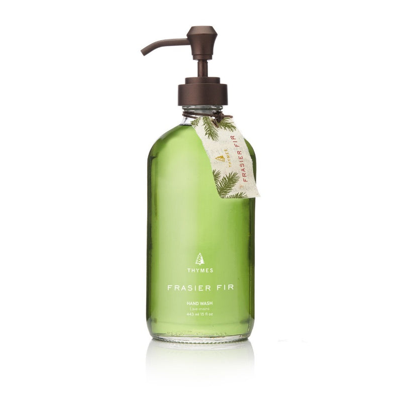 Thymes Frasier Fir Large Hand Wash Liquid Soap Putti Fine Furnishings Canada