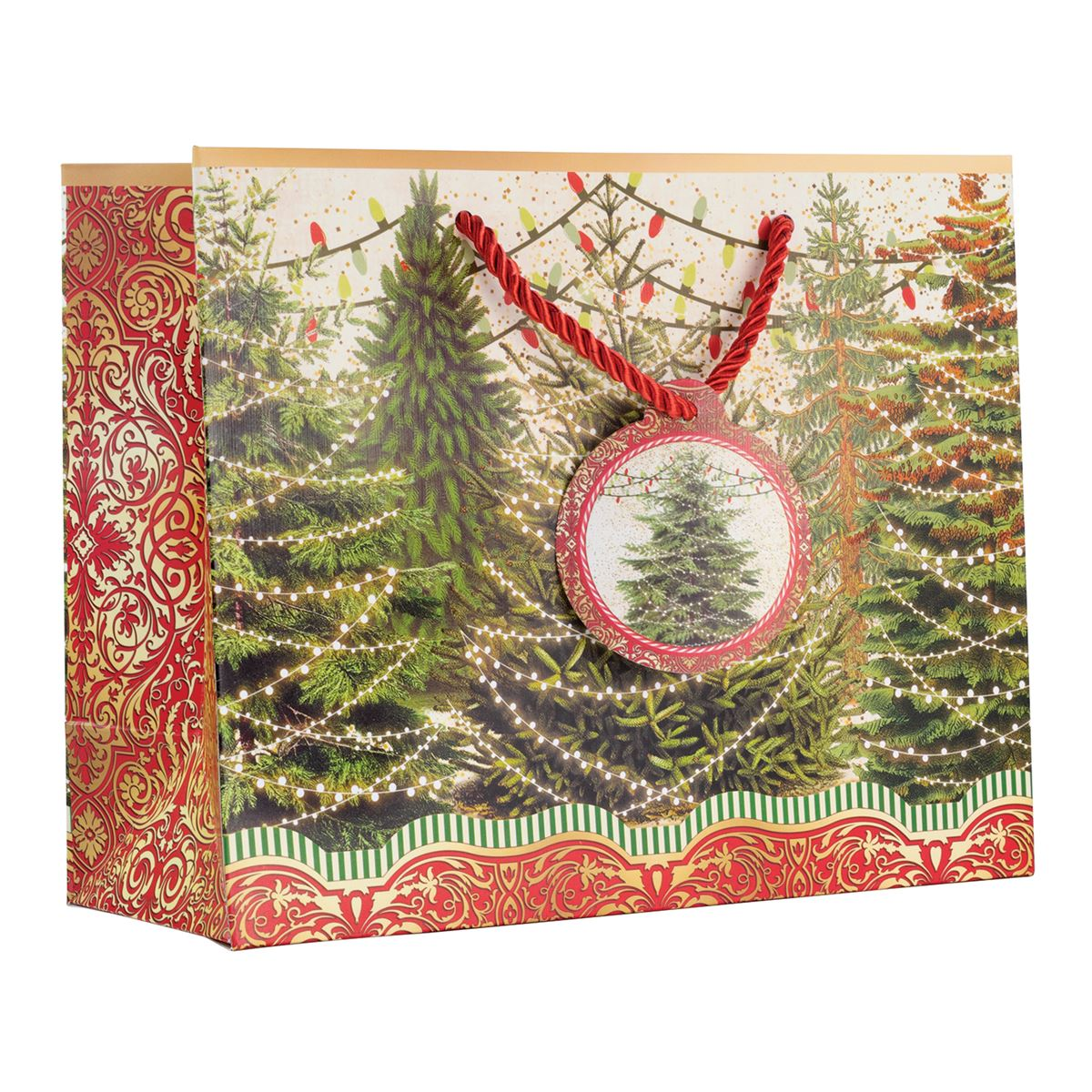 Michel Design Works O Tannenbaum Medium Giftbag | Putti Christmas