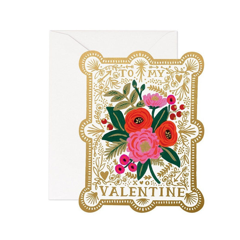 Rifle Paper Co. Vintage Valentine Card | Putti Celebrations Canada