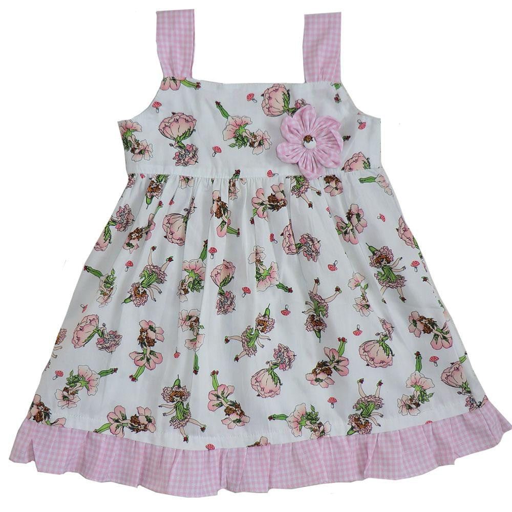"""Flower Fairy"" Dress-Children's Clothing-PC-Powell Craft Uk-1 to 2 years-Putti Fine Furnishings"