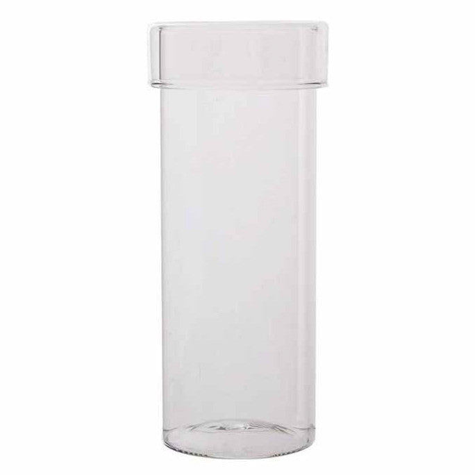 Glass Canister - Large-Bathroom Accessories-CF-Canfloyd-Putti Fine Furnishings