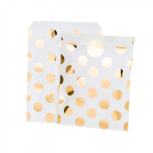 Gold Dot Treat Bags, TT-Talking Tables, Putti Fine Furnishings