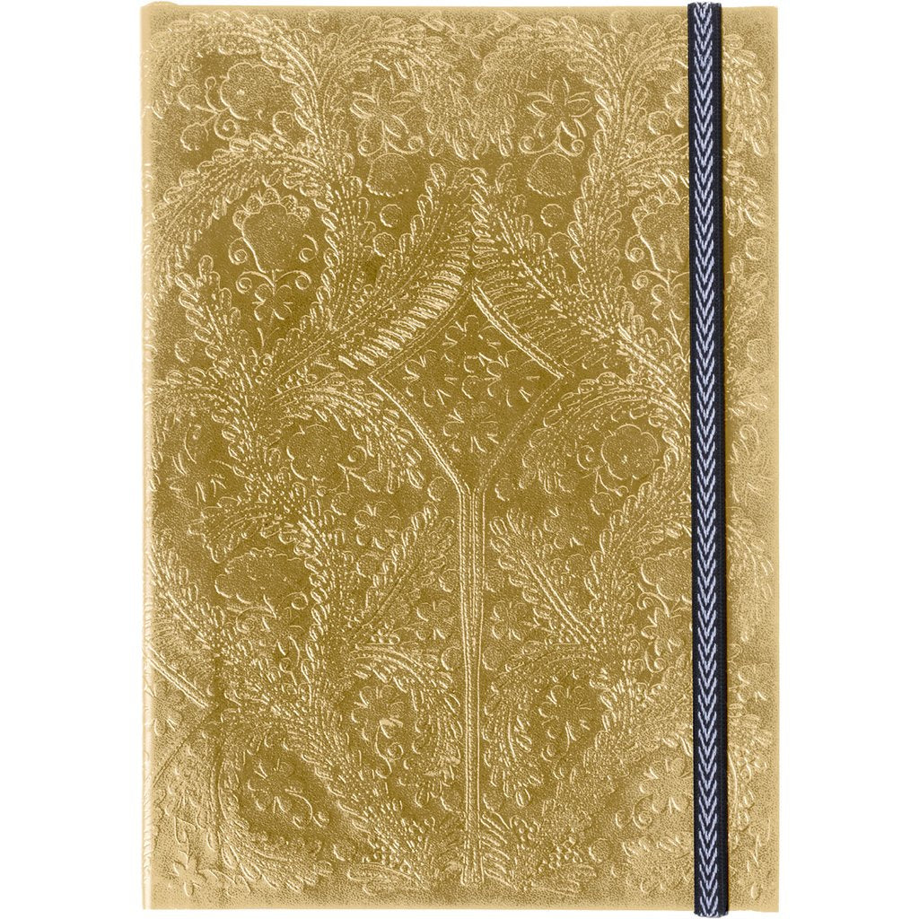 Christian Lacroix Embossed Paseo Notebook - Gold, GA-Galison, Putti Fine Furnishings