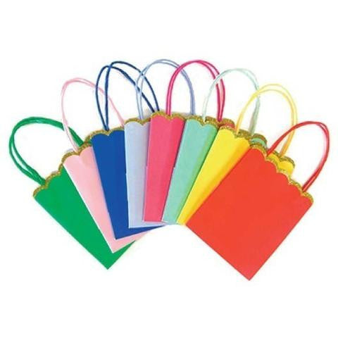 Meri Meri Multi Color Party Bags