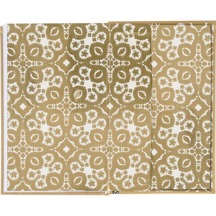 Christian Lacroix Slim Hardcover Journal - Paseo Gold