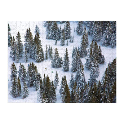 Gray Malin The Snow Double Sided Jigsaw Puzzle 500pcs