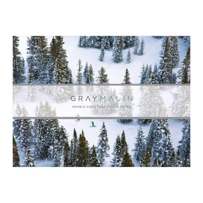 Gallison Gray Malin The Snow Double Sided Jigsaw Puzzle 500pcs | Putti
