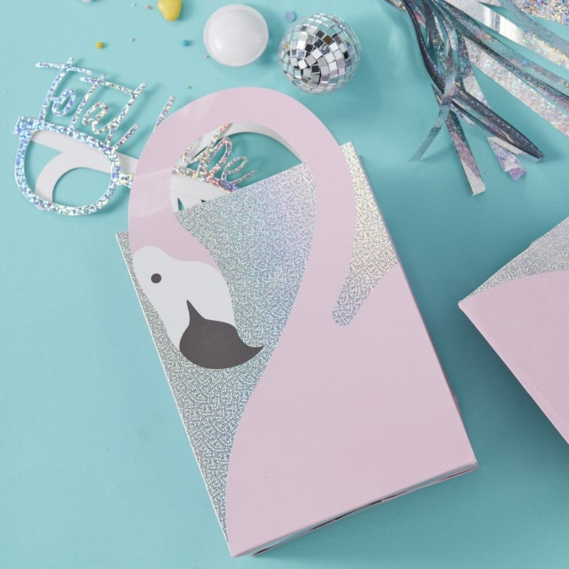 Flamingo Shaped Party Bags