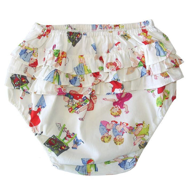 Girls at Play Frilly Knickers-Frilly Knickers-PC-Powell Craft Uk-Putti Fine Furnishings