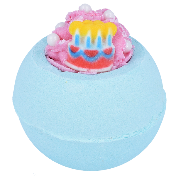 "Bomb Cosmetics UK ""Happy Birthday"" Bath Blaster - Le Petite Putti"