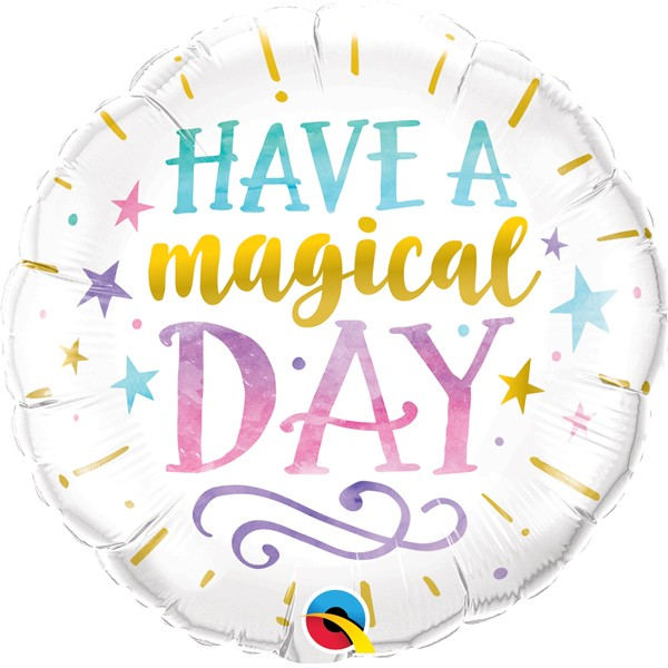 """Have a Magical Day"" Mylar Balloon, SE-Surprize Enterprize, Putti Fine Furnishings"