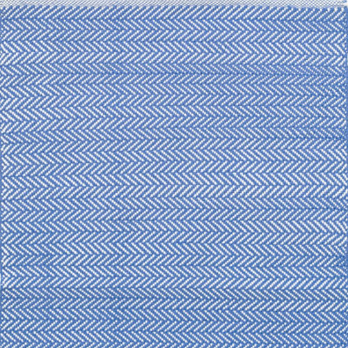 Herringbone Indoor Outdoor Rug - French Blue