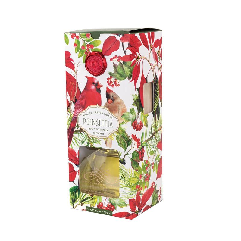 Michel Design Works Poinsettia Diffuser | Putti Christmas Canada
