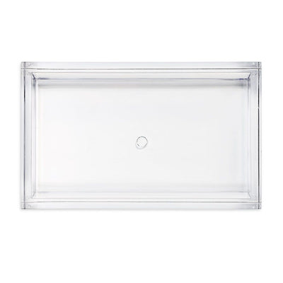 Caspari Lucite Guest Napkin Holder -Putti Fine Furnishings