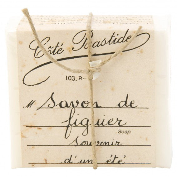 Cote Bastide Soap Wrapped- Figuier