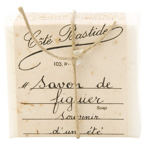 Cote Bastide Soap Wrapped- Figuier-Personal Fragrance-Cote Bastide-Putti Fine Furnishings