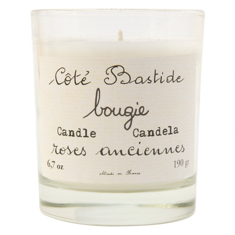 Cote Bastide Candle Boxed - Roses Anciennes