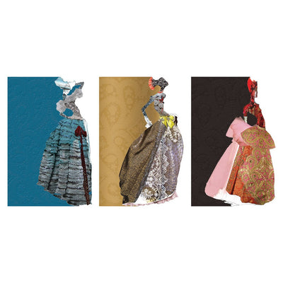 Christian Laxroix - Tres Madones Diecut Boxed Notecards, GA-Galison, Putti Fine Furnishings
