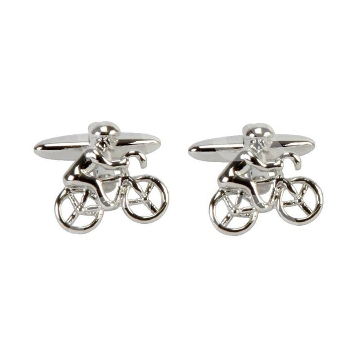 Harvey Mankin Cyclist Cuff Links