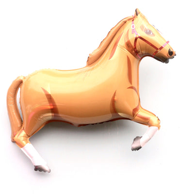 Giant Mylar Horse Balloon - Tan, Betallic - SKS Novelty, Putti Fine Furnishings