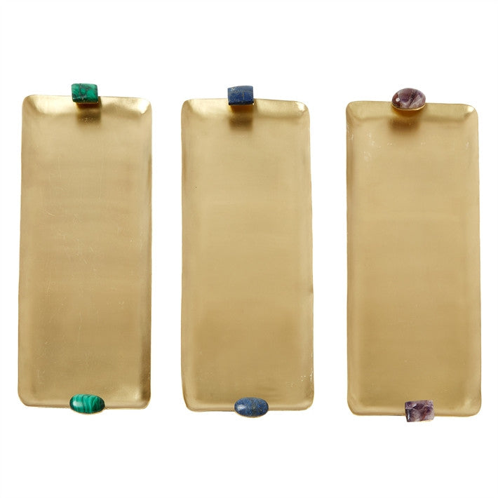 Tozai Semi Precious Trays, TH-Tozai Home, Putti Fine Furnishings