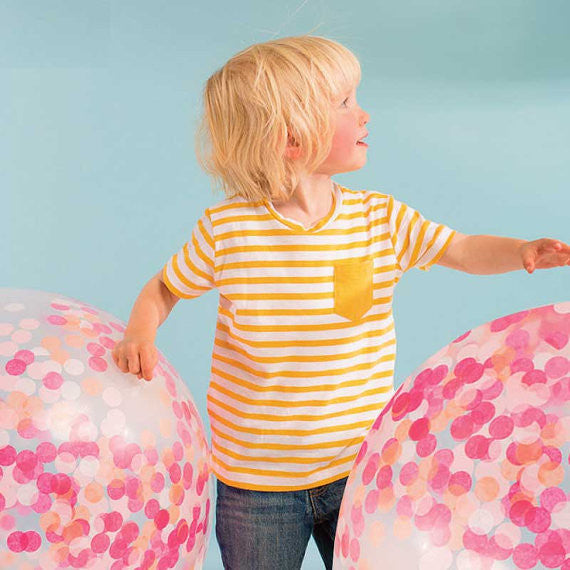 Meri Meri Giant Confetti Balloon Kit - Pink