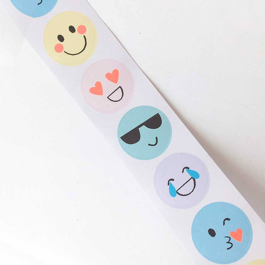 Meri Meri Mini Emoji Sticker Roll