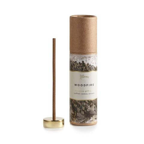 Illume Woodfire Incense | Putti Fine Furnishings Canada