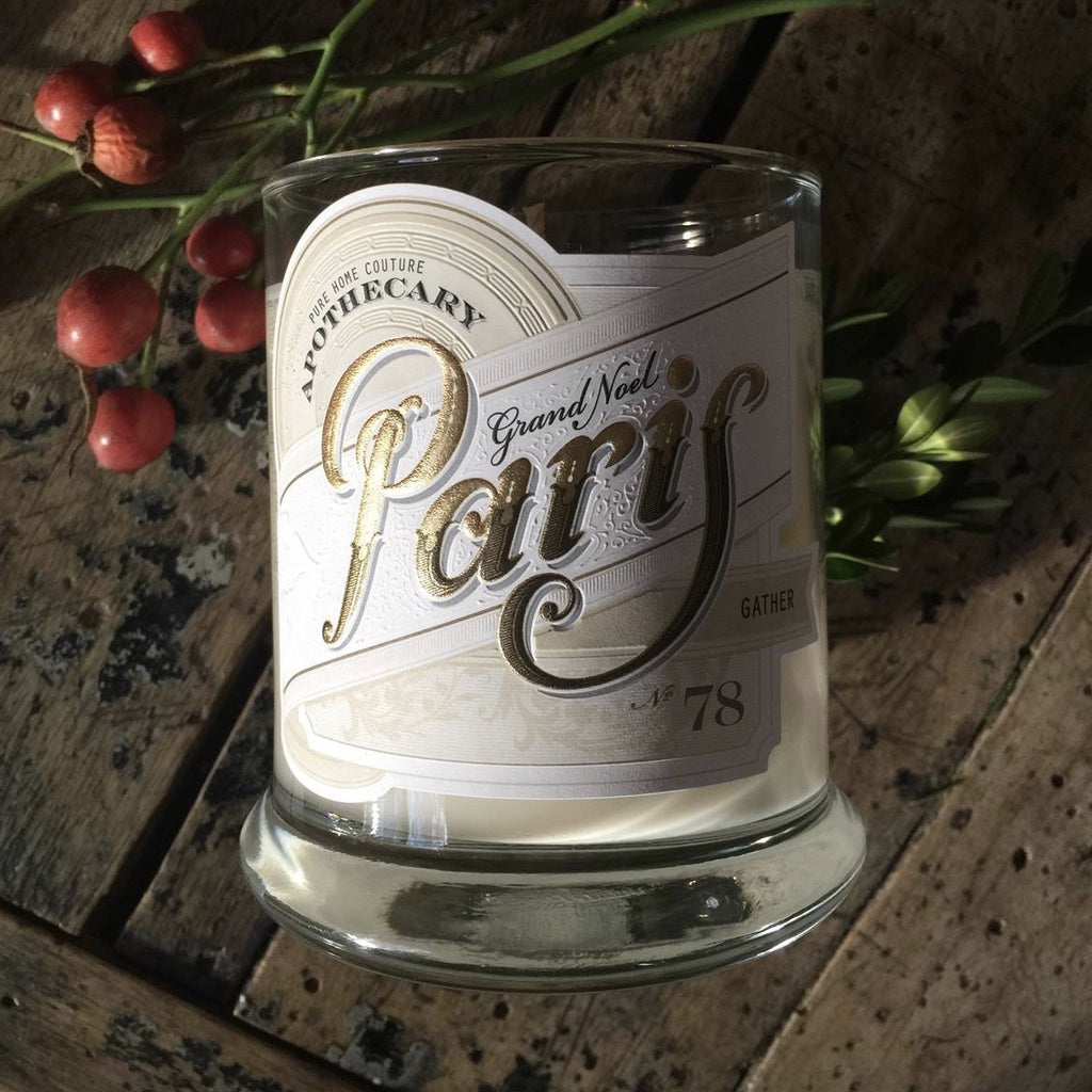 Grand Noel Paris Candle by Pure - Gather No. 78 -  Candles - Pure Home Couture - Putti Fine Furnishings Toronto Canada - 4