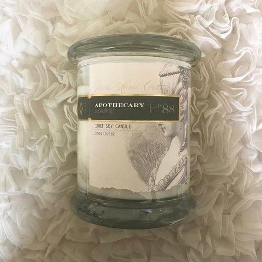 Apothecary Candle by Pure - Eucalyptus No. 88