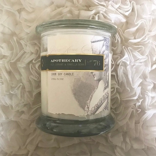 Apothecary Candle by Pure - Red Currant & Vanilla No. 76