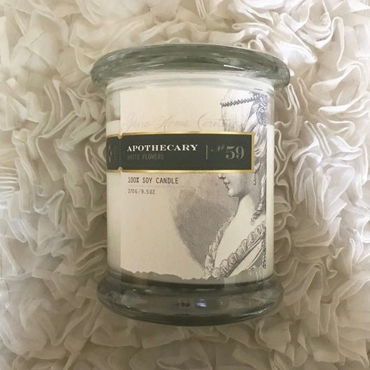 Apothecary Candle by Pure - White Flowers No. 59-Candles-PHC-Pure Home Couture-Putti Fine Furnishings