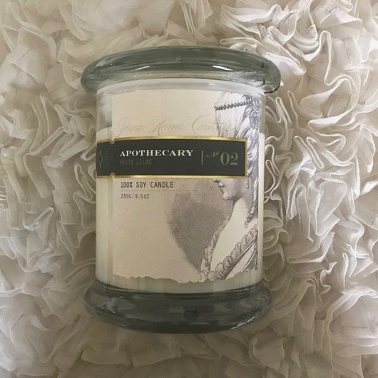 Apothecary Candle by Pure - White Lilac No. 02