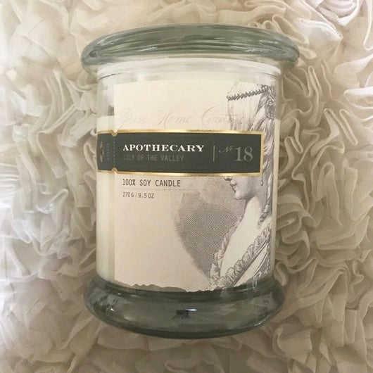 Apothecary Candle by Pure - Lilly of the Valley No. 18