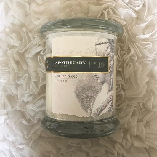 Apothecary Candle by Pure - Pipe Tobacco No. 19-Candles-PHC-Pure Home Couture-Putti Fine Furnishings