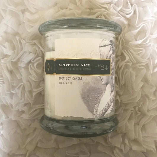 Apothecary Candle by Pure - Gardenia & Bitter Orange No. 24-Candles-PHC-Pure Home Couture-Putti Fine Furnishings