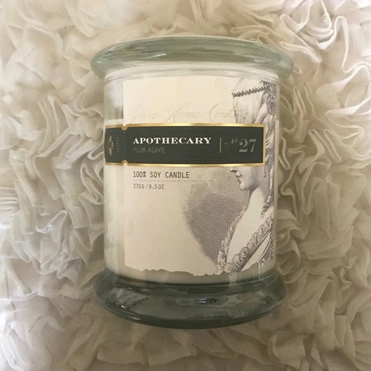 Apothecary Candle by Pure - Plum Agave No.27
