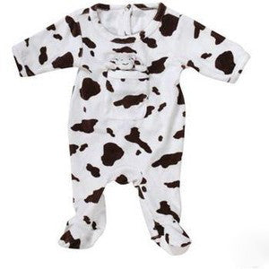 Moo Moo Cow Sleeper -  Onzies - Empress Arts - Putti Fine Furnishings Toronto Canada